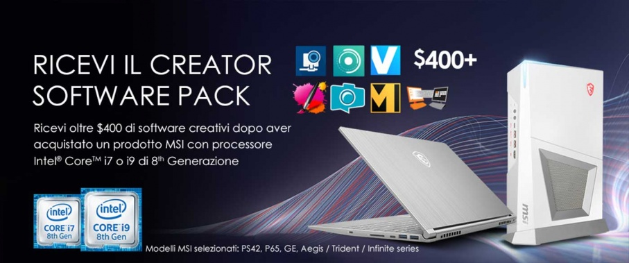 Intel Creator Pack